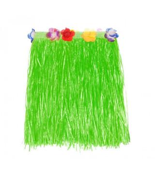 Юбка гавайская зеленая, 50 см