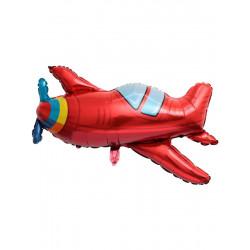 Кульки фігур. Літак червоний 96*80 6п. 21579 Китай