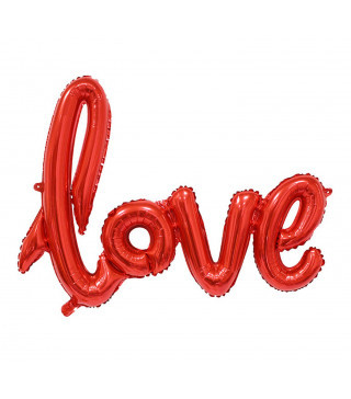 Кульки Букви love 1м 39067 Китай
