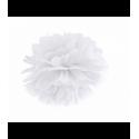 Помпон белый 25см