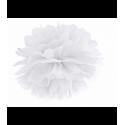 Помпон белый 35см