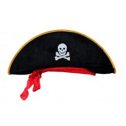 Шляпа Пирата с лентой детский