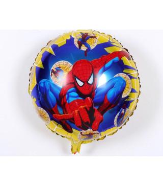 "Кульки фольг з малюнк. А18"" Спайдермен на жовтому (2.5г) фольга 215163 Китай"