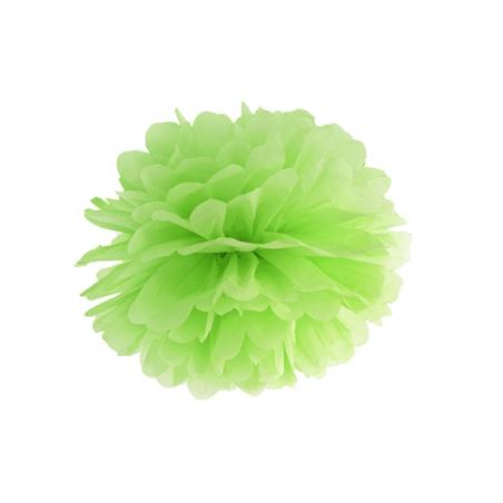 Помпон салатовый 25см