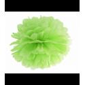 Помпон салатовый 35см
