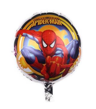 """Кульки фольг з малюнк. А18"""" Спайдермен на срібному (2.5г) фольга 215165 Китай"""