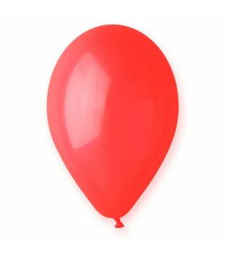 """Кульки пастель 10"""" Червоні 10-G 110 1шт. Ш-00670 Globos"""