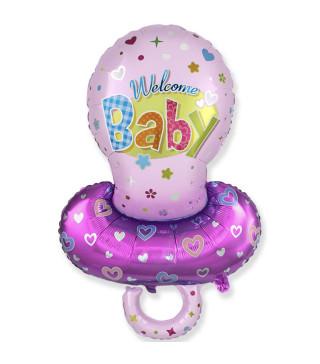 Кульки фігур. Соска для дівч 101см 5г 901791 FlexMetal