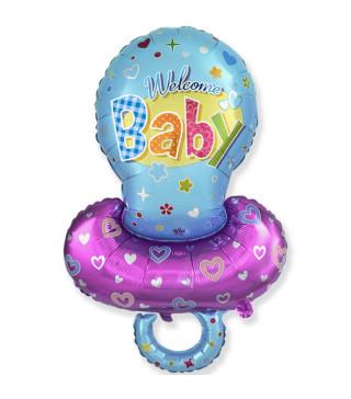 Кульки фігур. Соска для хлоп 101см 5г 901791-1 FlexMetal