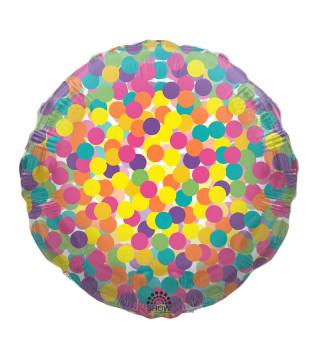 """Кульки фольг з малюнк. А18""""Конфетті(2,5г) SH-186 TM SHOW"""