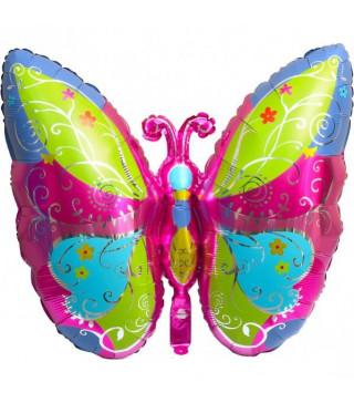 Кульки фігур. Метелик(5п)91*69,5см фольга 99300 Китай