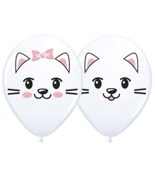 """Кульки поштучно з малюн. 12""""Милі котенята (1,75г) Ш-50353 BELBAL"""