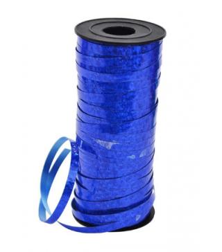 Стрічка синя голограма (5см*100м)1шт папір 45001 Китай