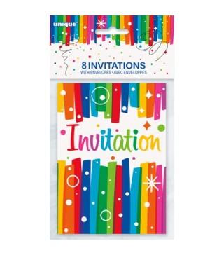 Запрошення на день народження 1шт