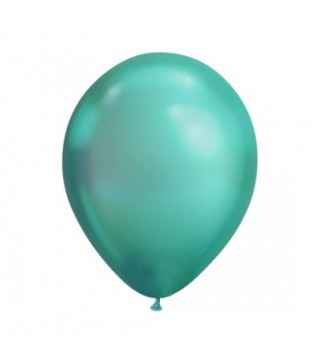 """Кульки хром 11"""" (Хром)зелений 1 шт Ш-58273 Qualatex"""