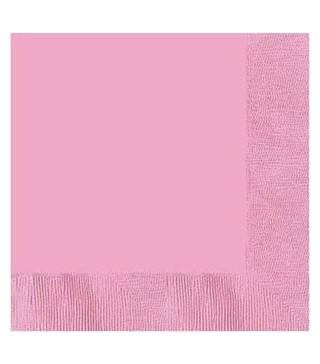 Серветки рожеві 20 шт/уп