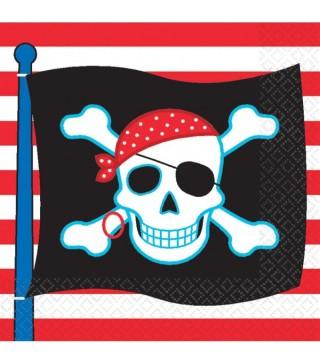 Тришарова серветка Пірати