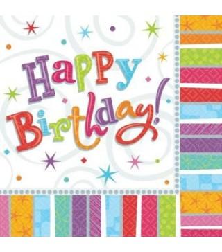 Серветки Happy Birthday