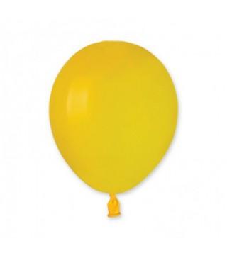 """Шарики 5 """"А50 желтые пастель"""
