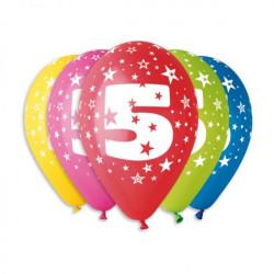 Кулька Цифра 5, 1шт