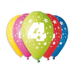 Кулька Цифра 4, 1шт