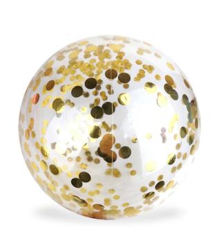 Кулька баблс з метафаном золот.конф.36см.( 10п.) 2252 Китай