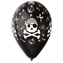 Набор шариков Череп пирата 5 шт/уп