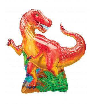 Шарик фольгированный мини, Динозавр