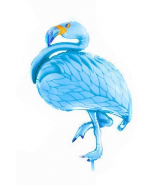 Кульки фігур. Фламінго блакитний (5г) 21561 Китай