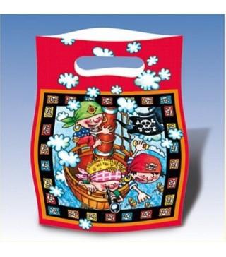 Подарункові пакети Пірати 6 шт/уп