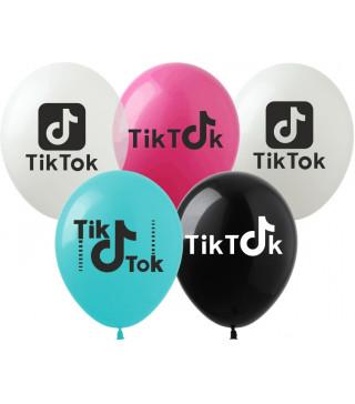 """Кульки поштучно з малюн. 12""""Li-1 Тік-Ток латекс Ш-02698 TM SHOW"""