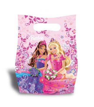 Подарункові пакети Принцеси 6 шт/уп
