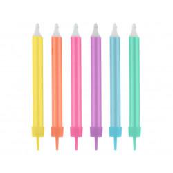 Свечи классические Цветные...
