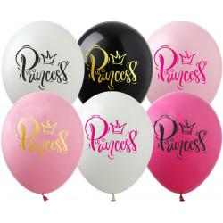 """Повітряні кульки поштучно 12"""" Princess"""