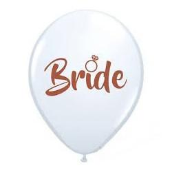 "Кульки пастель 12"" 14""Bride білі латекс Ш-98770 BELBAL"