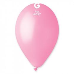"Кульки пастель 12"" рожеві 100шт 11571 Gemar"