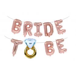 Шарики Bride to be розовое...