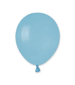 """Воздушные шарики пастель 5 """"(13 см) голубые"""