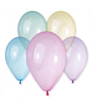 """Воздушные шарики ассорти 13""""(30см) пастель кристалл 1шт"""