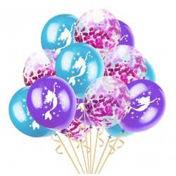 Набір повітряних кульок Русалочка з конфеті на день народження