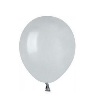 """Воздушные шарики 5 """"(13 см) пастель серые"""