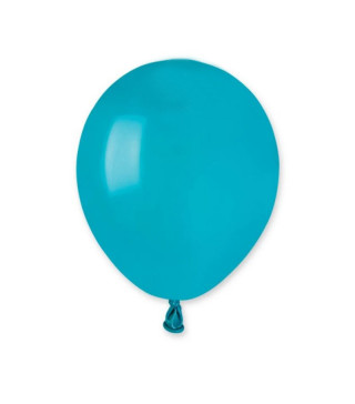 """Воздушные шарики пастель 5 """"(13 см) бирюзовые"""