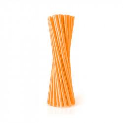 Трубочки фреш для коктейлю Оранжеві 25шт/уп