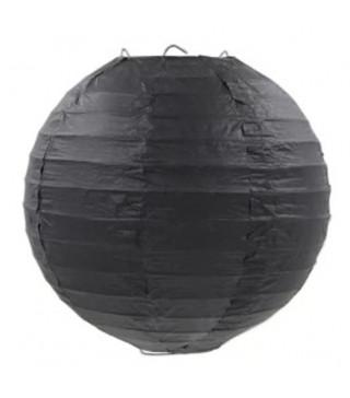 Подвеска Фонари черные 30 см