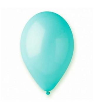 """Шарики пастель 12 """"30 см Голубые 100 шт / уп Gemar"""