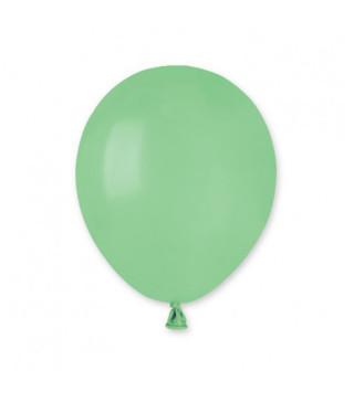 """Воздушные шарики зеленые 5""""(13см) пастель 100шт/уп"""