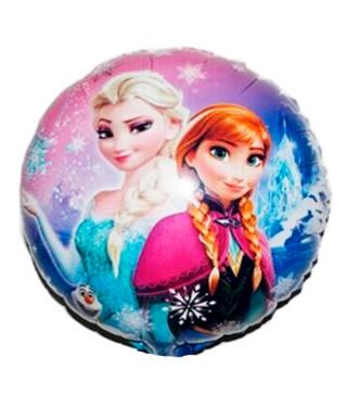 "Воздушный шарик ""Happy Birthday"" Frozen фольга"