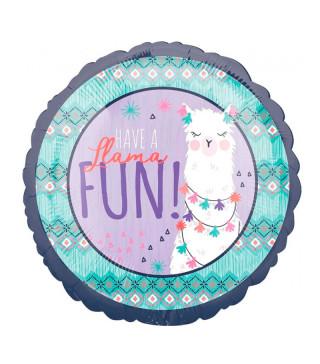 Повітряна кулька фольгована Весело з ламою ≡ купити за 40 грн | funfan.ua
