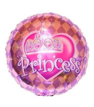 "Кульки фольг з малюнк. А18""Princess (2,5г) 215149 Китай"