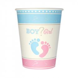 Стаканчики BOY and GIRL